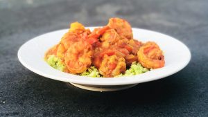 Curry Madras Met Gambas Koolhydraatarm Recept