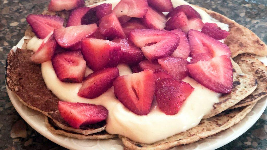 Eiwit Pannekoekjes Gezond Ontbijt