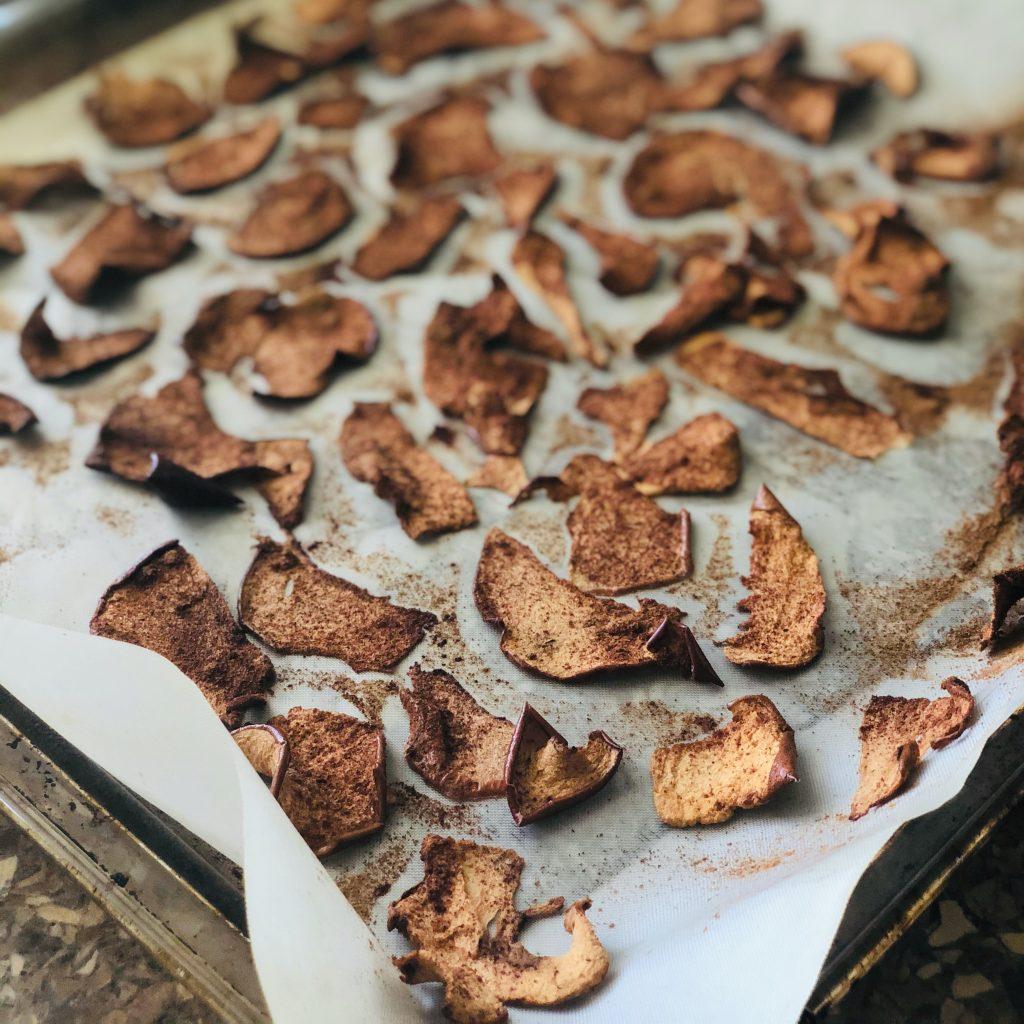 Gezonde Snack Appel Chips Recept