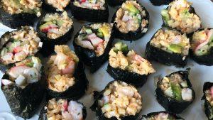 Koolhydraatarme Sushi Bloemkoolirijst