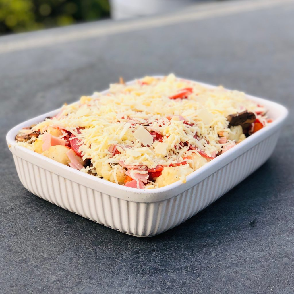 Pizza Ovenschotel Koolhydraatarm Recept