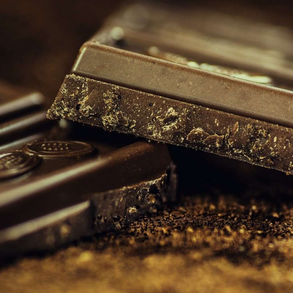 Pure Chocolade Calorie Arme Brownie