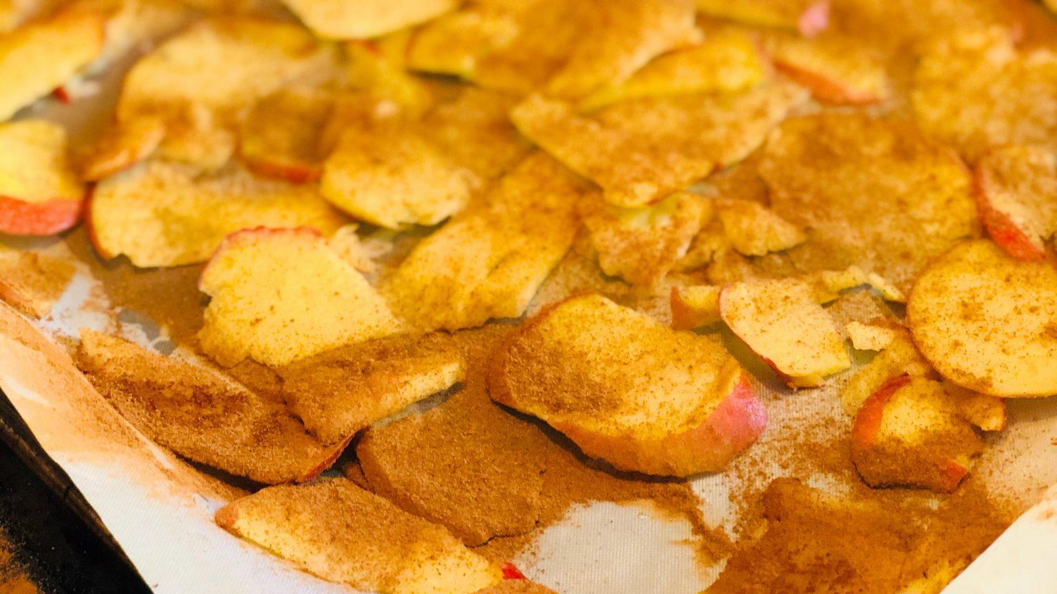 Recept Gezond Snack Appel Chips