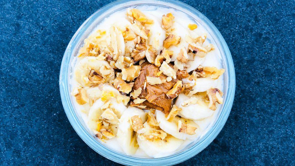 Yoghurt Bowl Banaan Pindakaas