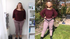 voor en na foto lotte corijn