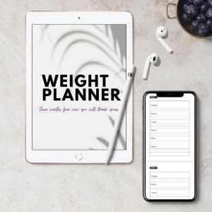Planner dieet maaltijden digitaal